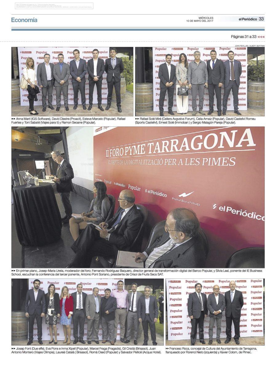 Participació de Carns Milà a II Foro Pyme Tarragona