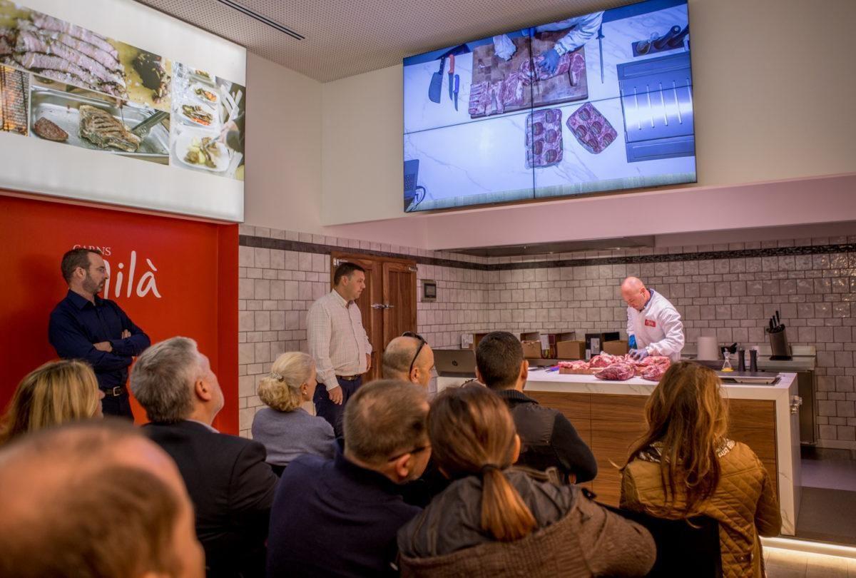 Presentació Carns Irlandeses al Showroom de Carns Milà