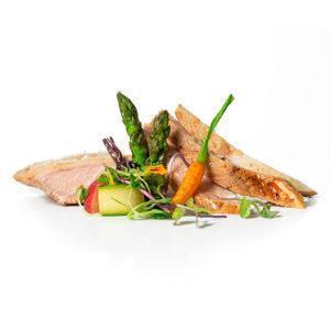 Secret de porc duroc cuinat a baixa temperatura durant 8 hores
