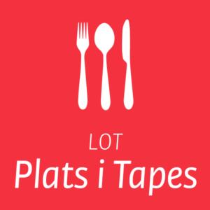 Lot Milà plats i tapes