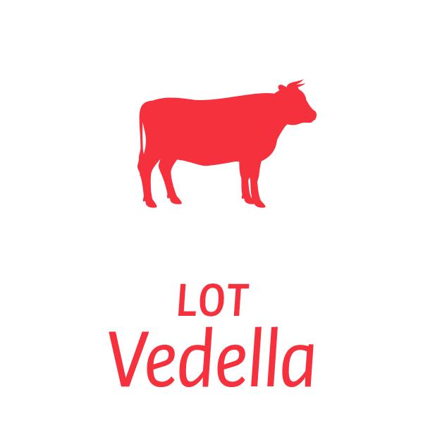 Lot de carn de Vedellà Milà