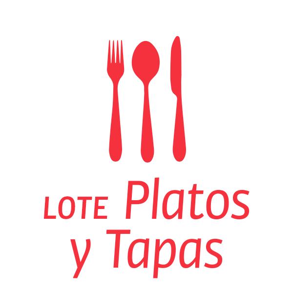 Lote platos y tapas